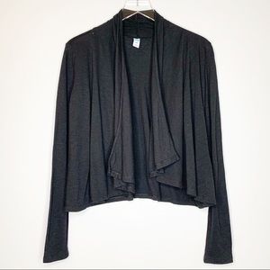 Old Navy Maternity Black Open Front Cardigan Small